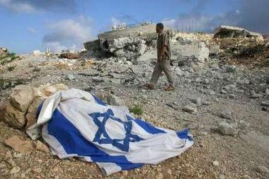Israeli Flag Left Behind