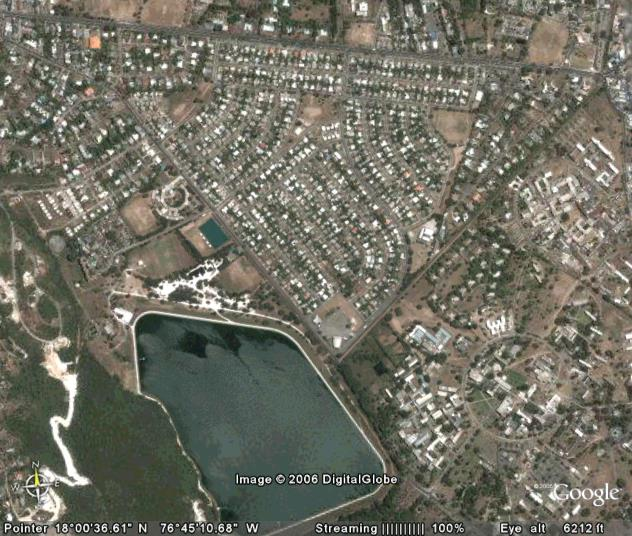 Where in the world is mona heights jamaica geoffrey philp heres a modified tour from google earth of an aerial map of mona heights jamaica many of my short stories and two thirds of benjamin my son take place gumiabroncs Images
