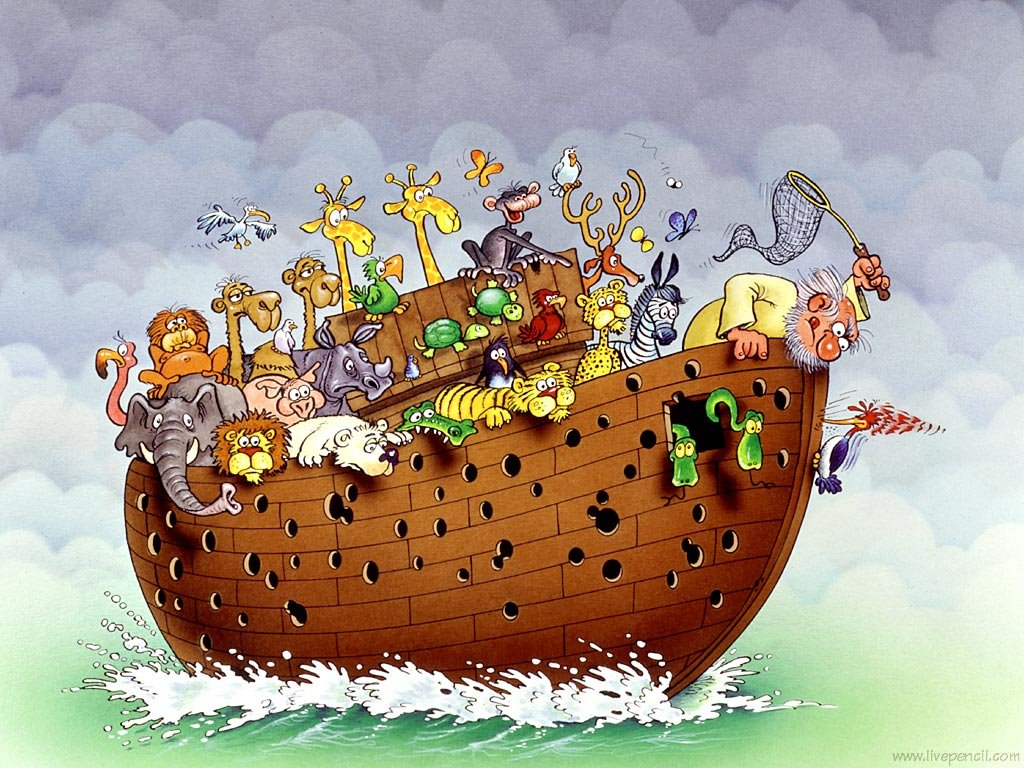 the road to north carolina if noah had to build the ark in 2006