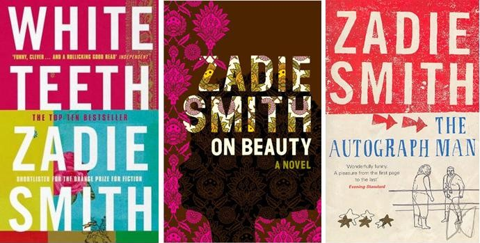 Book Cover White Teeth : I like her style zadie smith