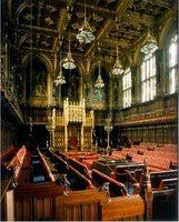 The House of Lords Chamber