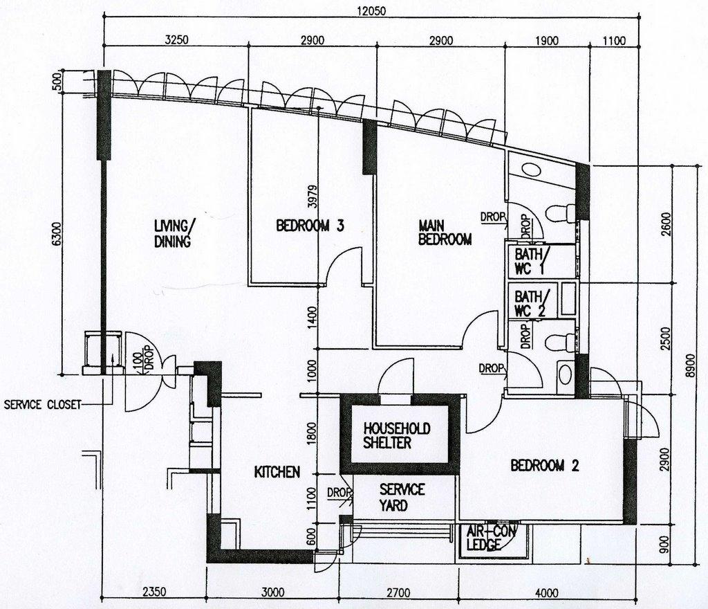 the floor plan of our new home sengkang the coris sherryl