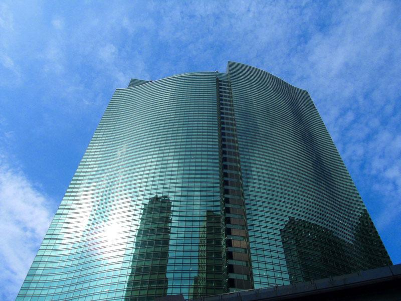 Skyscraper @ Shiodome, Tokyo
