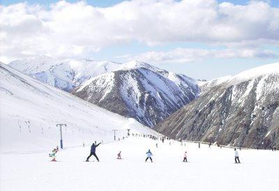 Porter Heights Ski slopes