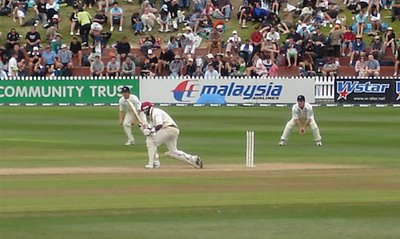 West Indies vs the Black caps - Brian Lara was rubbish!
