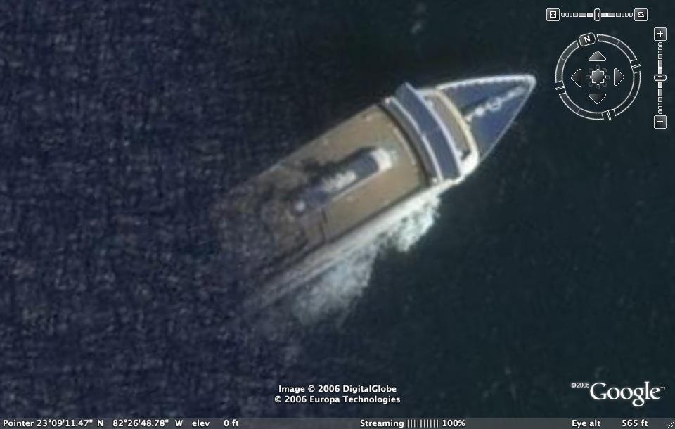 Cuban Ghost Ship Illusion