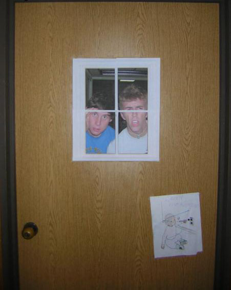 Dorm Room Doors Optical Illusion ~ 053117_Weird Dorm Room Ideas