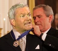 Foley gets Medal of Freedom from President Bush at Betty Ford Clinic from Unconfirmed Sources - Sarcasm