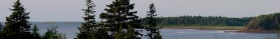 View of New London Bay from Seascape Chalet