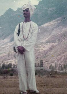 Swami Ji en sus peregrinajes
