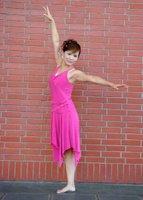 Jednonoga kineska amputirska plesačica