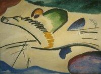 Kandinsky, Lyrisches, 1911, Museum Boijmans Van Beuningen</a>, Rotterdam