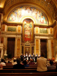 Palestrina Choir, St. Matthew's Cathedral, May 19, 2006