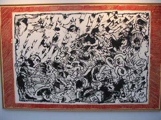 Pierre Alechinsky, Evènement géologique, 2004/05, Galerie Lelong