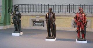 Arman, Lenin figures, 1993