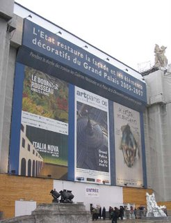 Artparis 2006, Grand Palais, entrance
