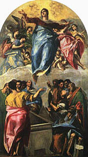 El Greco, Assumption of the Blessed Virgin Mary