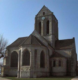 Eglise d'Auvers-sur-Oise, Romanesque