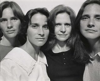Nicholas Nixon, The Brown Sisters, 1986, National Gallery of Art, Washington, D.C.
