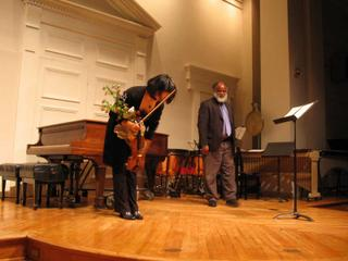 Lina Bahn and Jeffrey Mumford, Contemporary Music Forum, September 18, 2005