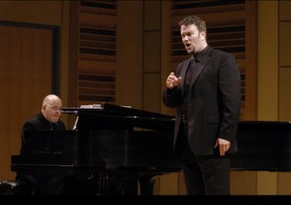 Mark Crayton, countertenor, and James Janssen, piano, not at the Phillips Collection