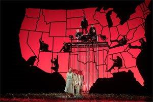 Die sieben Todsünden, directed by François Girard, Festival Kurt Weill, Opéra de Lyon, photo by Franchella/Stofleth