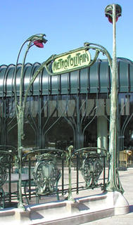 Hector Guimard, Entrance to the Paris Métro, National Gallery of Art Sculpture Garden