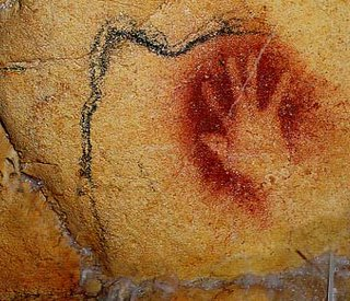 Handprint, Chauvet Cave