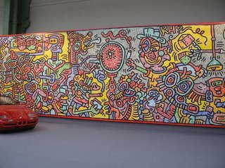 Keith Haring, Knokke Casino, 1997, Enrico Navarra