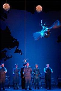 Der Lindberghflug, directed by François Girard, Festival Kurt Weill, Opéra de Lyon, photo by Franchella/Stofleth