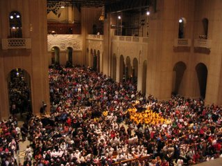 Mass for Life, Basilica of the National Shrine of the Immaculate Conception, January 22, 2006