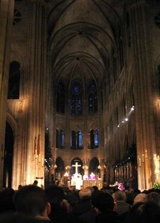 Notre-Dame de Paris, Messe à 18h30, March 19, 2006
