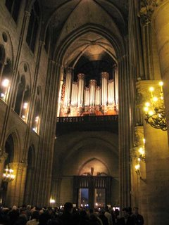 Notre-Dame de Paris, Grande Orgue, March 19, 2006