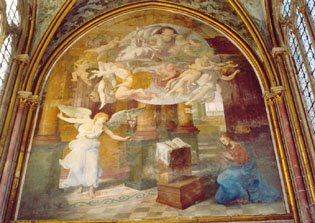 Primaticcio, Annunciation, Abbey of Chaalis