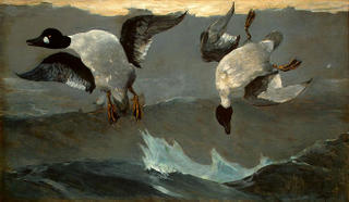 Winslow Homer, Right and Left, 1909, National Gallery of Art, Washington, D.C.
