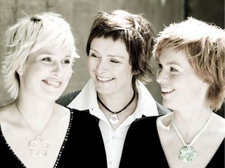 Trio Medival: Anna Maria Friman, Torunn strem Ossum, and Linn Andrea Fuglseth