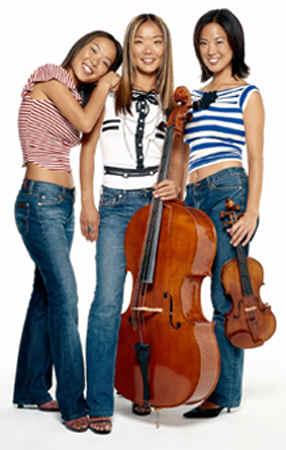Ahn Trio, photo by Jean-Bernard Villareal