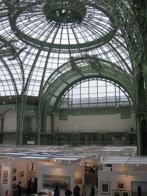Artparis 2006, Grand Palais, March 20, 2006