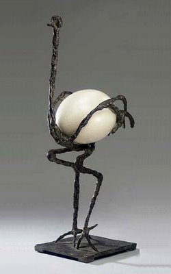 Diego Giacometti, L'Autruche, or the Ostrich