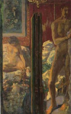Pierre Bonnard, L'homme et la femme, 1900, Mus&eacute;e d'Orsay