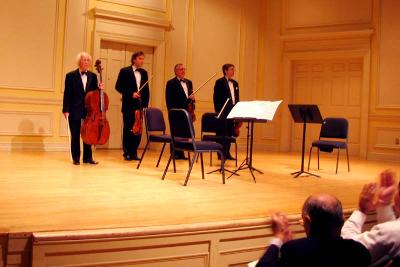 Borodin Quartet at the Library of Congress, October 19, 2005