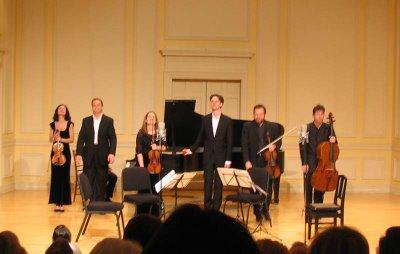 Ian Bostridge, Belcea Quartet, Julius Drake, Library of Congress, March 10, 2006