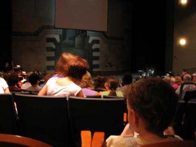 Mini-Critic Waits for the Curtain, Brundibár, Opera Camp for Kids, Washington National Opera, August 13, 2005