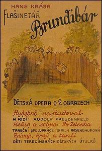 Premiere poster, Brundibár