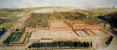 Jusepe Leonardo, Vista del palacio del Buen Retiro, Museo Nacional del Prado, Madrid