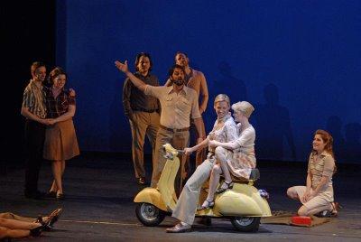 Orfeo, Théâtre du Châtelet, production by Opéra de Lille, photograph by M. N. Robert