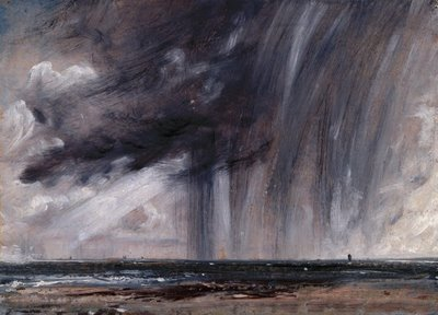 John Constable, Rainstorm over the Sea, 1824-28, Royal Academy of Art