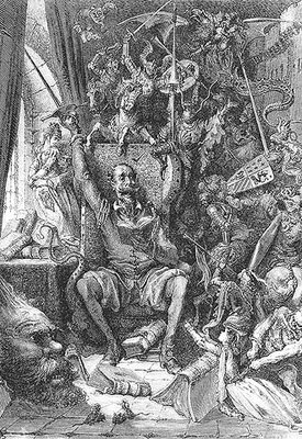 Gustave Doré, Don Quixote in his study