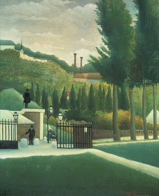 Henri Rousseau, L'octroi, 1890, Courtauld Institute of Art Gallery