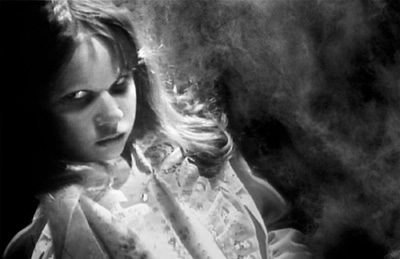 Linda Blair as Regan MacNeil, The Exorcist, directed by William Friedkin